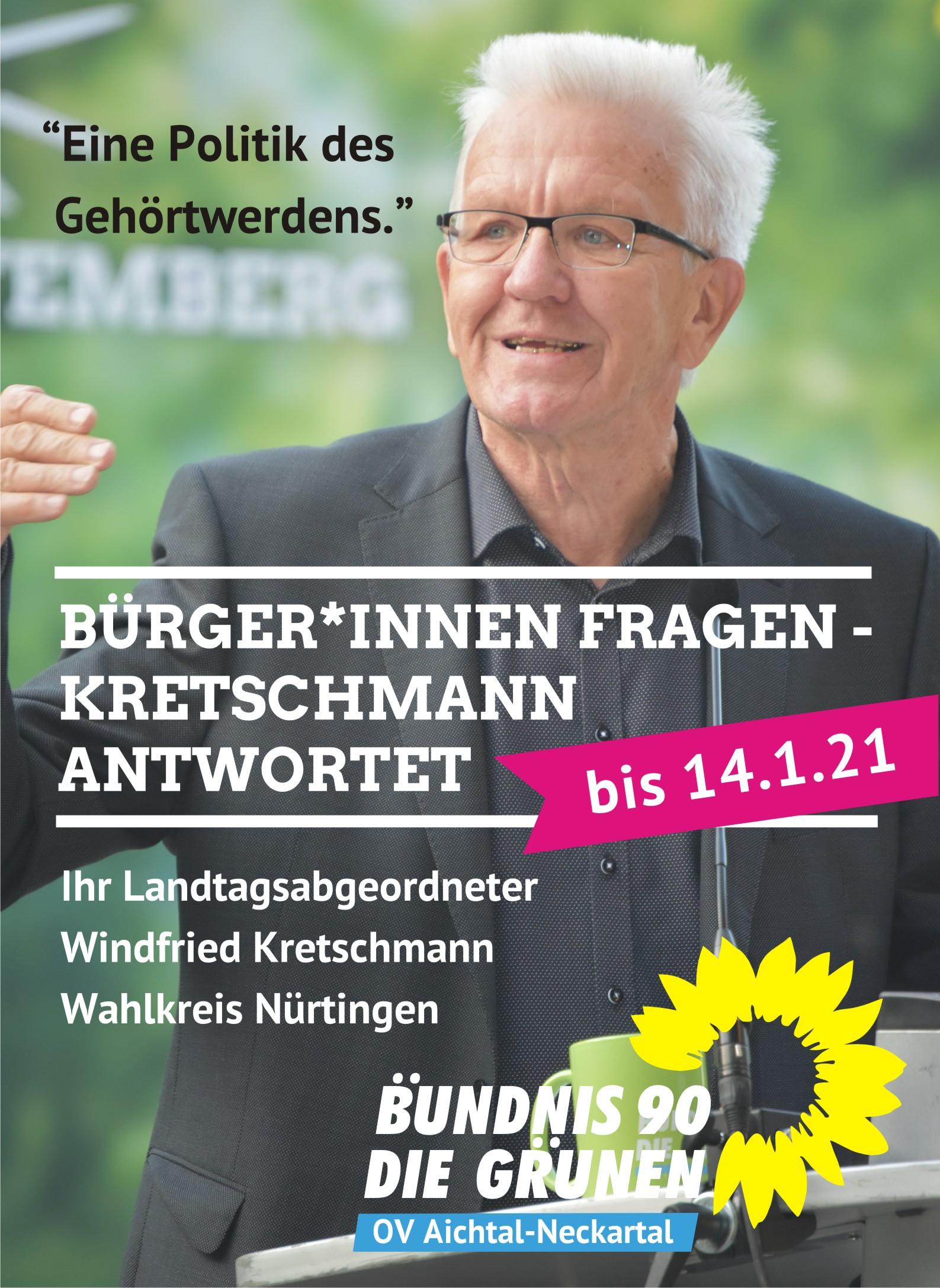 Burger Innen Fragen Kretschmann Antwortet Ov Aichtal Neckartal